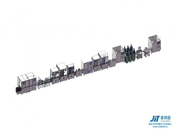3C自动包装生产线
