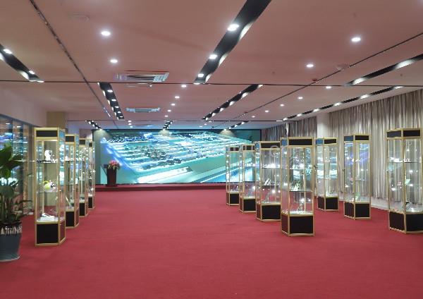 英特丽产品展厅