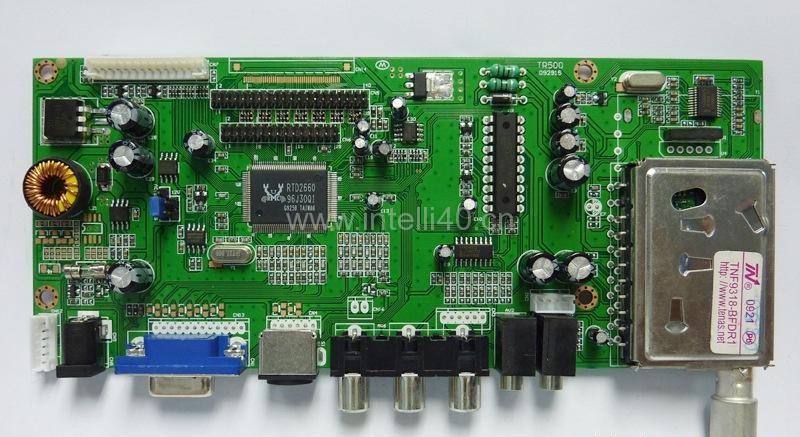 曲屏电视PCBA板