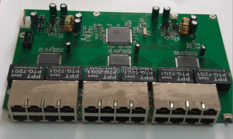 POE交换机PCBA板